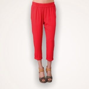 ELIZABETH AND JAMES Sloan Relaxed Cropped Pants